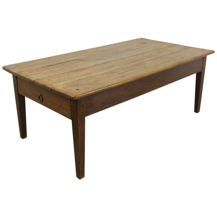 Antique French Cherry Coffee Table 1