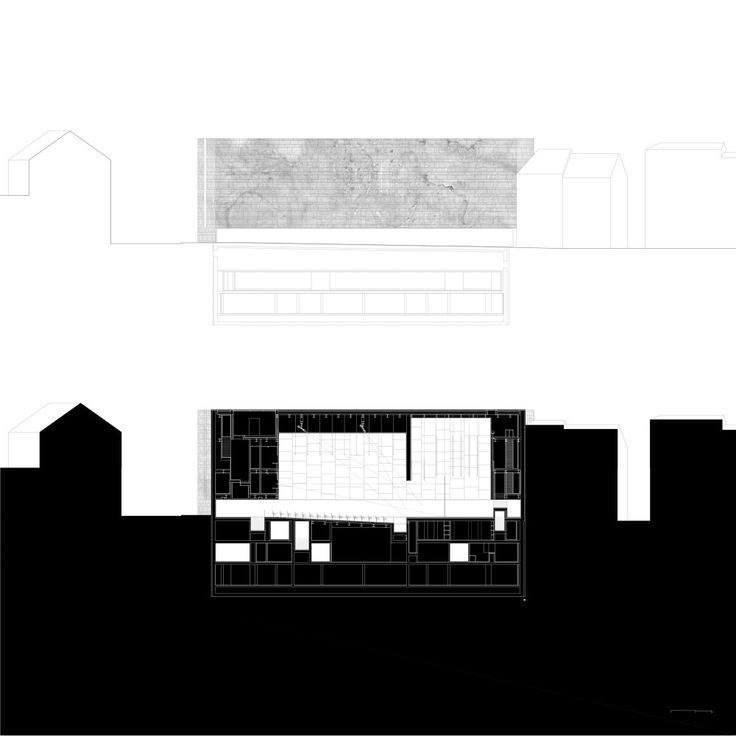 elevation + section 02