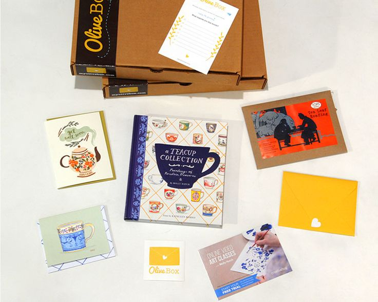 Olive Box: Sign up to receive a surprise box in the mail each month.
