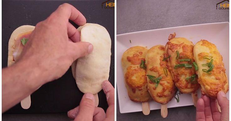 Sul BASTONCINO: una PIZZA diversamente deliziosa