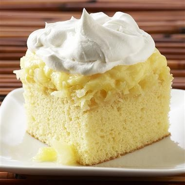 This recipe is amazing...I use Betty Crocker's GF yellow cake mix...yum!! Aloha cake...Make it extra sunny by using Malibu Rum in place of the coconut extract...3 tsp to cake 1/2 tsp to pudding mix.