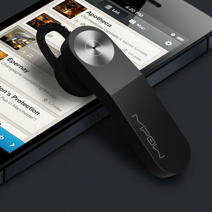 MIPOW Wireless Bluetooth HeadSet Stereo Headphone Earphone for iPhone Samsung LG   eBay