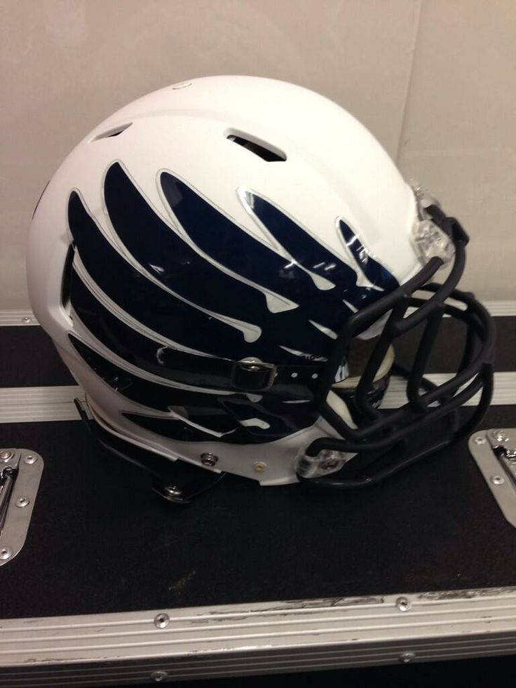 Check out the owl wing football decals Rice Football will be wearing during the AutoZone Liberty Bowl today! Good luck! Go Owls!!!