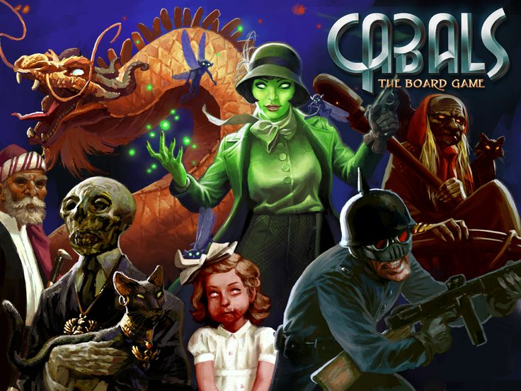 You Questions answered. Cabals: The Board Game, an Expandable Card Game (XCG) project video thumbnail