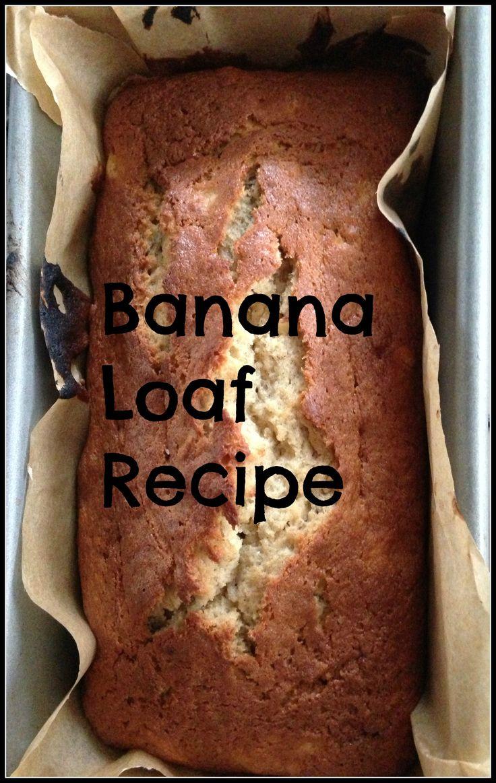 Very easy banana loaf recipe