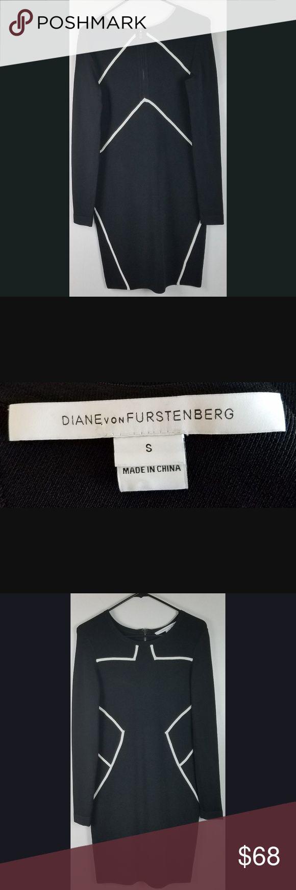 Diane Von Furstenberg Dress Diane Von Furstenberg Dress Black White Fashion Clothes Design