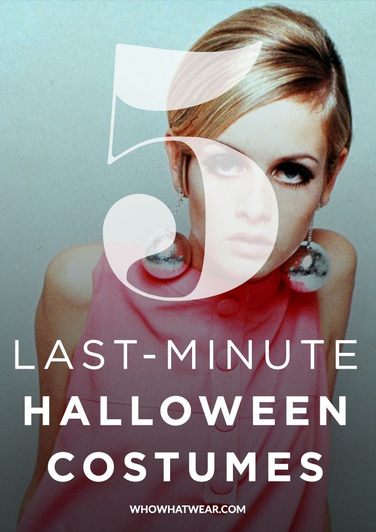 5 last minute halloween costumes using things you already own - Halloween Costumes You Already Own