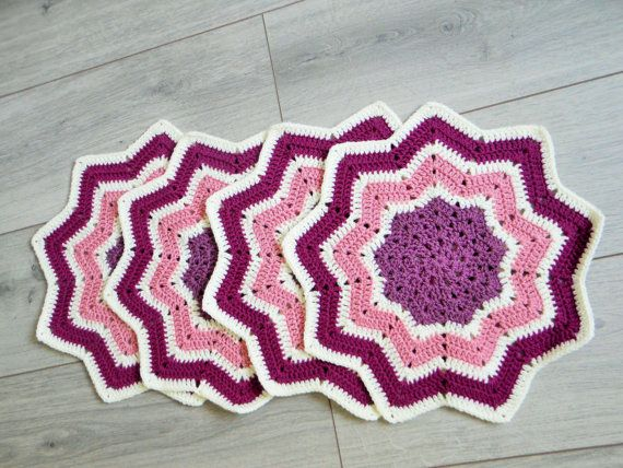 Hey, I found this really awesome Etsy listing at https://www.etsy.com/uk/listing/256219500/crochet-place-mats-home-sweet-home-decor
