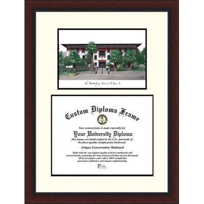 Campus Images NCAA Texas University, El Paso  Legacy Scholar Diploma Picture Frame