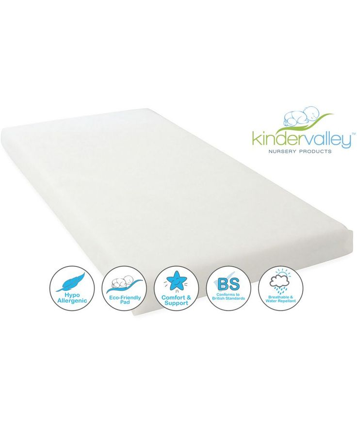 Buy Kinder Valley Flow Cot Bed Mattress at Argos.co.uk - Your Online Shop for Cot and cot bed mattresses.
