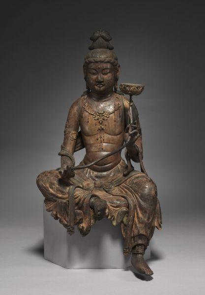 Miroku Bosatsu: The Future Buddha | Miroku Bosatsu: The Future Buddha, mid 1200s Japan, Kamakura Period (1185-1333)