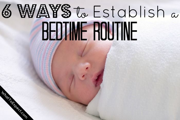 newborn bedtime routine 1