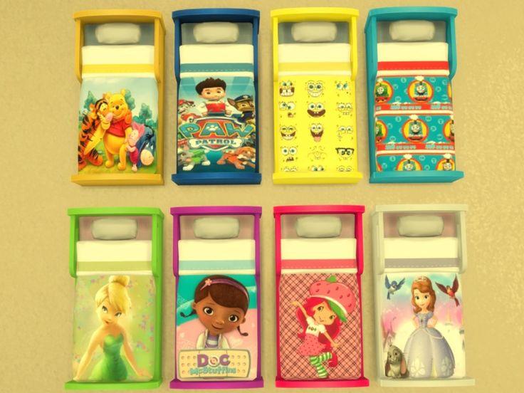 Lits Bambin Chambre Sims 4 Pinterest Lits Sims Et