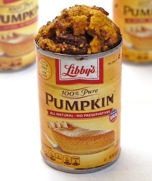 Pumpkin Bread Baked in a Can | Warmly spiced pumpkin bread is a fall-baking must: it's easy to whip up, it's crowd-pleasing, and it makes your kitchen smell incredible. This recipe uses the entire can of pumpkin, which acts as an adorable baking vessel for our pumpkin bread batter.