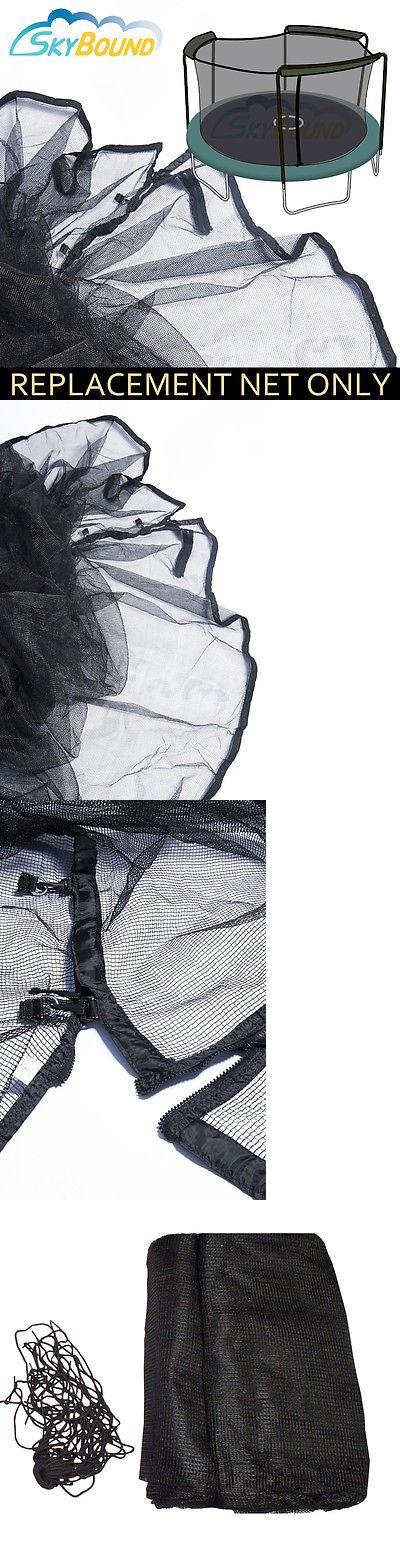 Trampolines 57275: 14 (Frame Size) Trampoline Net Fits 3 Arch Enclosure Fits Bounce Pro (Net Only) -> BUY IT NOW ONLY: $59.95 on eBay!