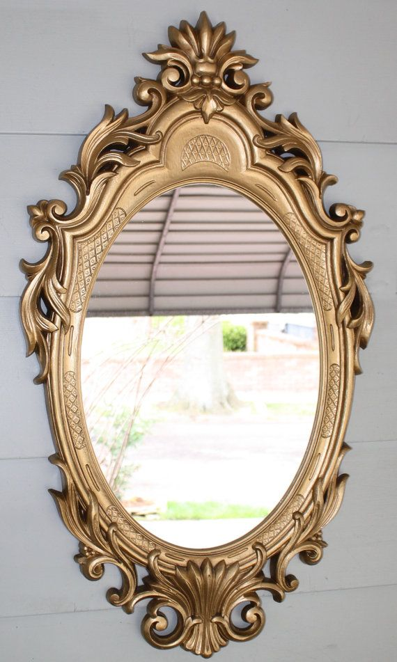 Vintage Sears and Roebuck Wall Mirror by QUEENIESECLECTIC on Etsy, $45.00