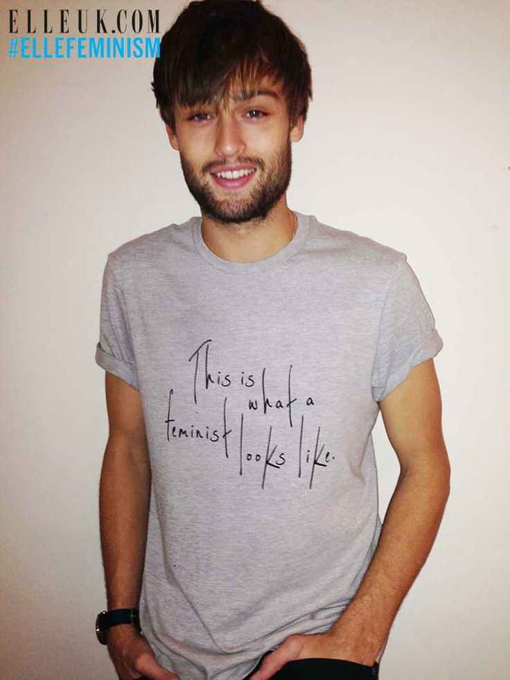 This is what a feminist looks like | Douglas Booth