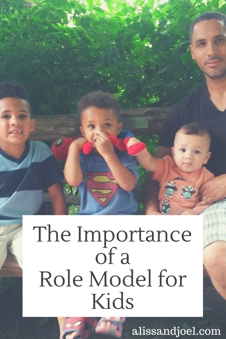 the importance of the father as a role model Being a role model for your child tips for working with young children children are born without social knowledge or social skills, and they eagerly look for someone to imitate that someone is usually one or both parents parents are a child's first teachers and role models and usually children are more affected by what their parents do.