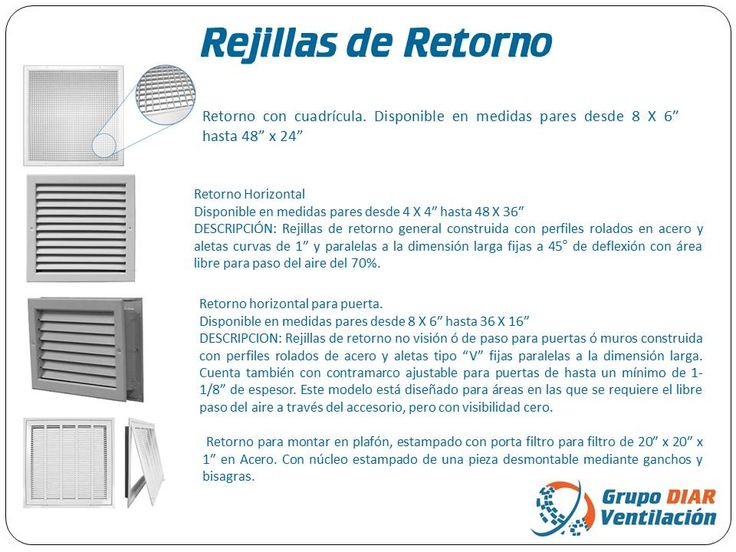 41 best images about rejillas difusores y filtros on - Rejilla de ventilacion ...