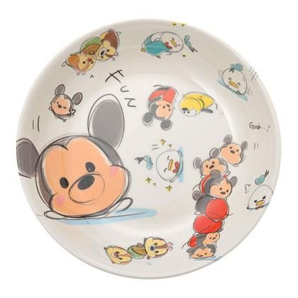 Mickey & Friends Tsum Tsum Melamine Pasta Bowl