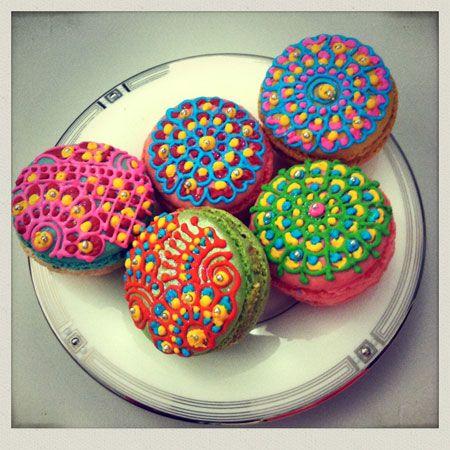 macarons decorados - Buscar con Google