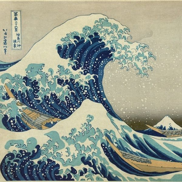 The Historical past of 'The Nice Wave': Hokusai's Most Well-known Woodblock Print
