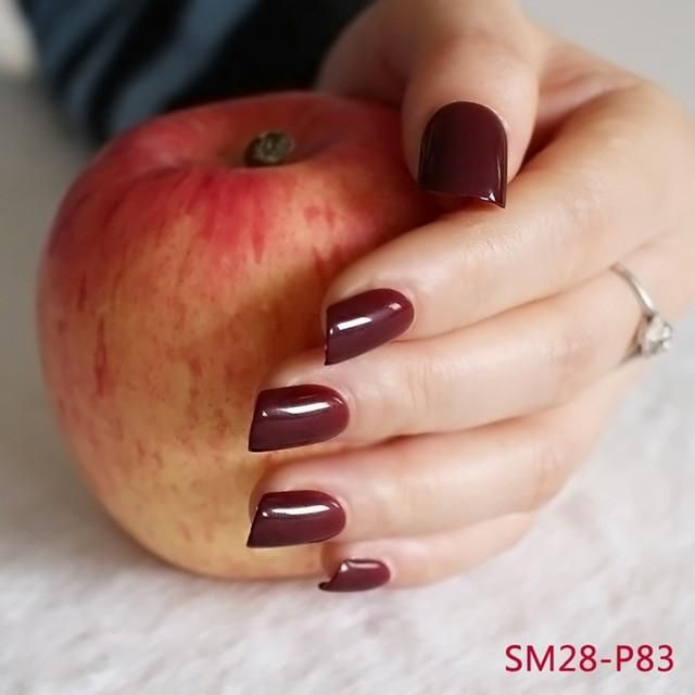 best 25 maroon nails ideas on pinterest fall nails. Black Bedroom Furniture Sets. Home Design Ideas