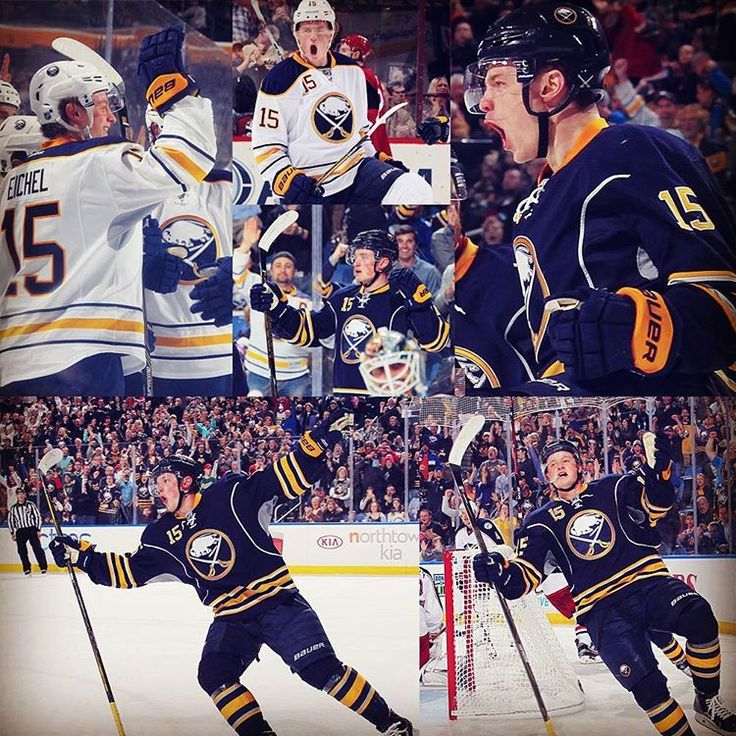 """Jack Eichel is the youngest Sabre to record 20 goals ever. Double tap to say congrats! #WeLikeEich"""