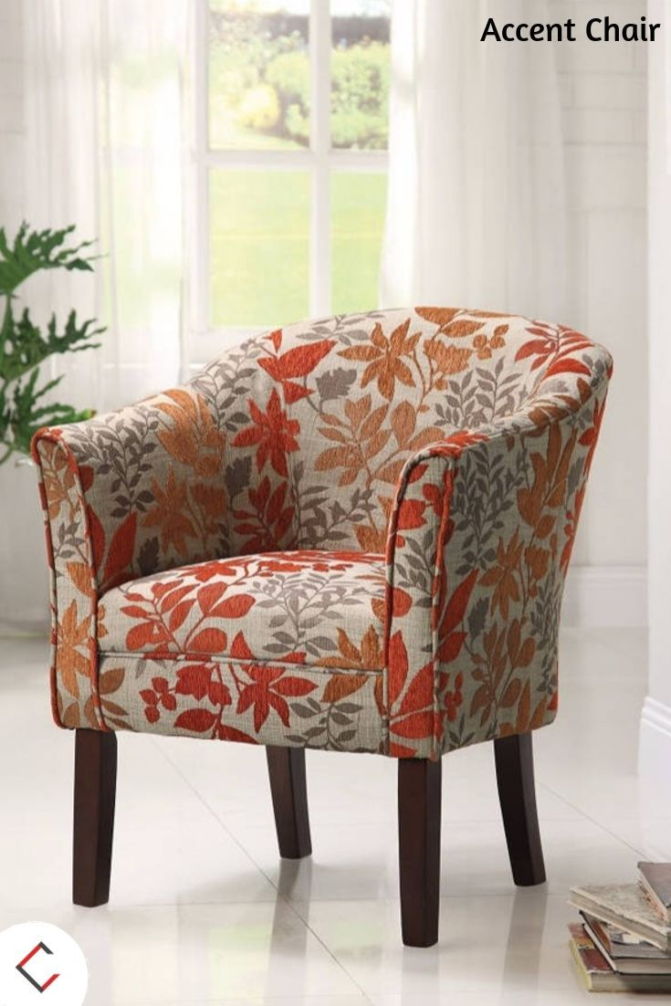 Homeroots Colorfully Catchy Accent Chair Living Room Chairs