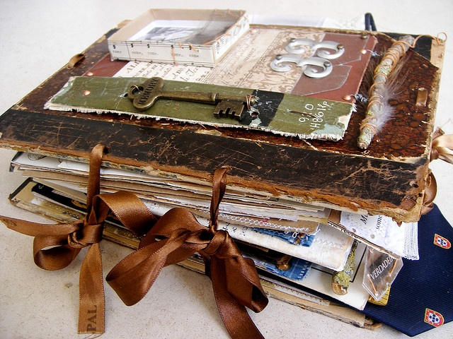 love this altered book