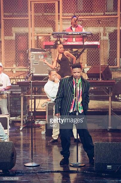 Musical guest Ricky Bell of Bell Biv Devoe performs on July 15 1993
