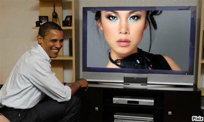 Riyo Mori Miss Universe Japan 2007 watch live Obama