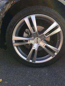 mags 18 pouces pneus inclus  5x112    245/40/18