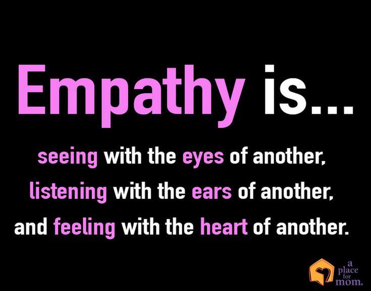 Best 25+ Empathy Quotes Ideas On Pinterest