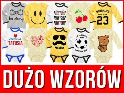 Kup teraz na allegro.pl za 13,90 zł - BODY Z DŁUGIM RĘKAWEM 134 NADRUKI P1 PROMOCJA 62 (5945800905). Allegro.pl - Radość zakupów i bezpieczeństwo dzięki Programowi Ochrony Kupujących!