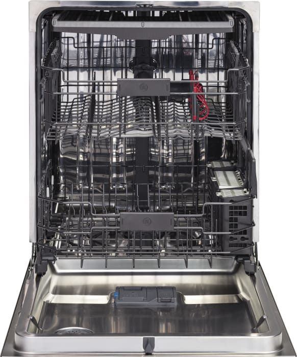Ge Gdt695ssjss 24 Inch Fully Integrated Dishwasher With Stainless Steel Interior Piranha Food Disposer 3rd Rack Wash Zones Adjustable Upper Rack Bottle Je Built In Dishwasher Ge Dishwasher Steel Tub