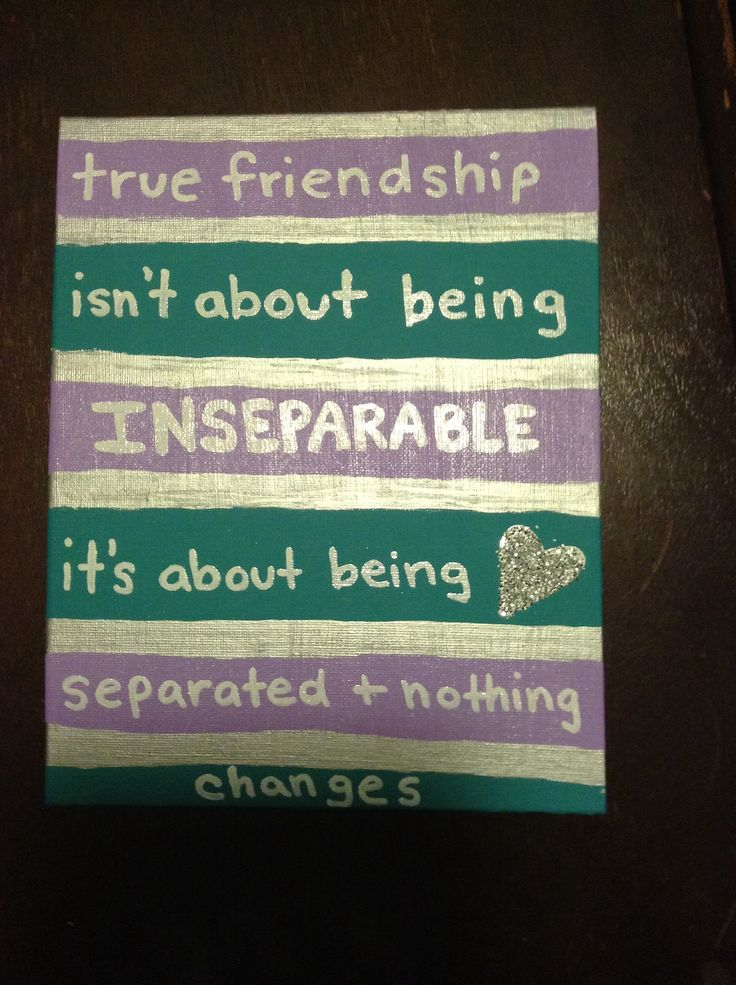 Best Friend Quotes On Canvas: Ideas about painted name ...