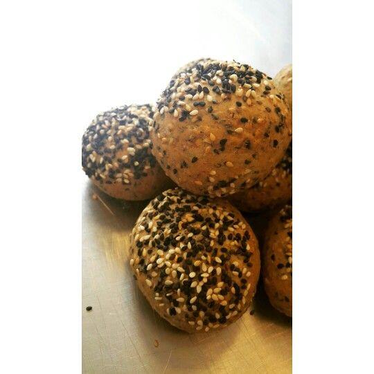 ♡ Pan de ajonjoli (sesamo).