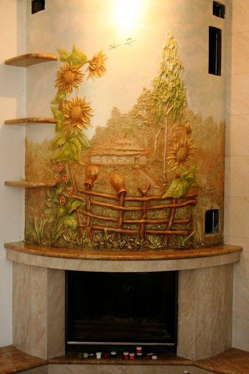 Дизайн художественное оформление стен..., автор Александр Палий. Артклуб…