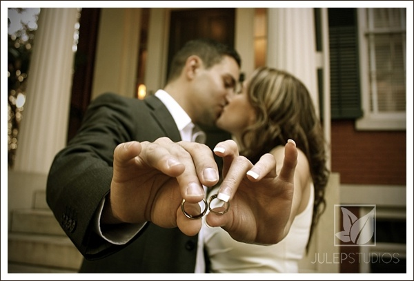 wedding pose. rings. www.julepstudios.com