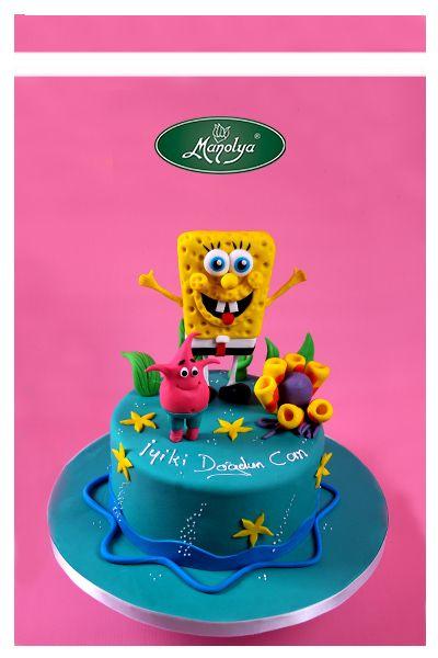 #manolyapastanesi #patisserie  #istanbul  #cake  #cakedesign  #spongebob  #celebration #celebrationcake #patisserie #yummy