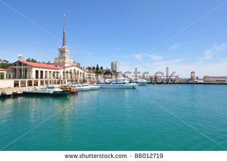 waterfront in Sochi
