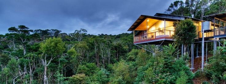 Australia - Pethers Rainforest Retreat in Queensland in den Tamborine Mountains.