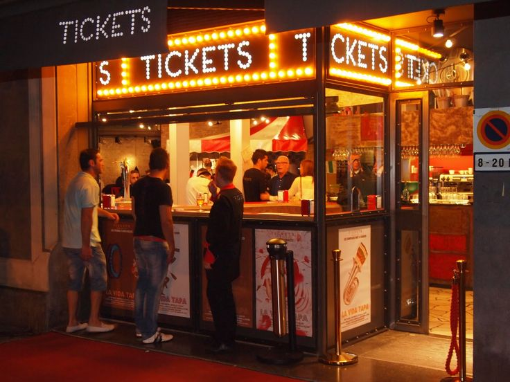 Tickets restaurant with the concept made by Ferran Adria (the chef of El Bulli, for many years the best restaurant of the world) and his brother Albert, together with the Iglesias brothers, owners of the Rias de Galicia.  Address: Avinguda del Paral·lel, 164, 08015 Barcelona Phone:932 92 42 53
