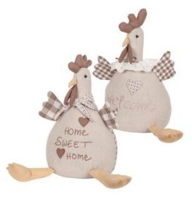 Fermaporta Gallina beige -  Angelica Home & Country