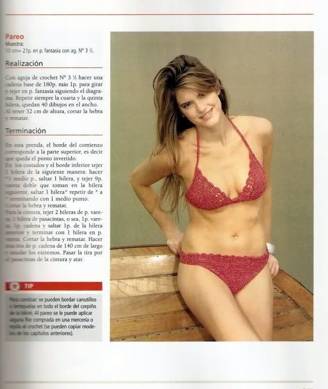 Lujo Patrón De Ganchillo Libre Del Bikini Colección - Ideas de ...