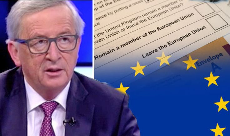 Juncker's DESPERATE plea: Don't hold any more referendums as voters will choose to LEAVE  JEAN-CLAUDE JUNCKER has begged EU leaders not to hold in-out referendums because he fears it will backfire and voters will choose to LEAVE.  By REBECCA PERRING & DAVID MADDOX PUBLISHED: 17:56, Mon, Nov 28, 2016