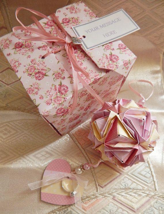 First Wedding Anniversary Gift  Customised by KatamiKeepsakes