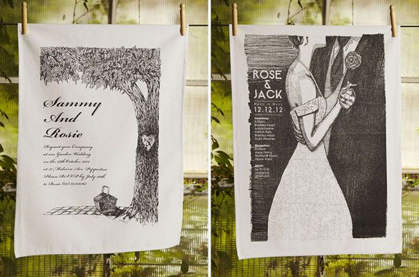 Love those images, great invite ideas