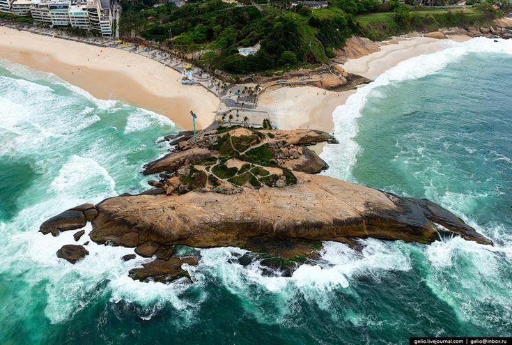 Рио-де-Жанейро с высоты: от фавел до статуи Христа « FotoRelax